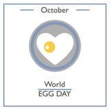 World Egg Day, October Royalty Free Stock Photos