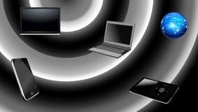 World of electronics Royalty Free Stock Photography