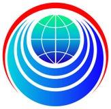 World emblem Royalty Free Stock Photography