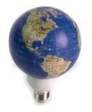 World Energy. Concept: World energy, lighting the world, green energy, world power Royalty Free Stock Photos