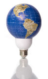 World Energy. Concepta: World energy, lighting the world, green energy, world power Stock Photography
