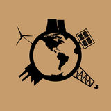 World energy consumption Stock Photography