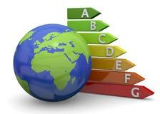 World Energy Saving - 3D Stock Image
