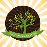 World Envirnoment Day Royalty Free Stock Photography