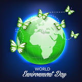 World Envirnoment Day Stock Images