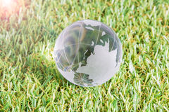 World environment concept, globe Stock Photography