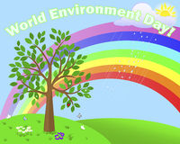 World Environment Day. Royalty Free Stock Photo