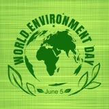 World Environment Day card design Royalty Free Stock Photos