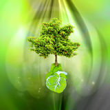 World Environment Day. World Day of Environment, concept the blossoming Earth Stock Photo