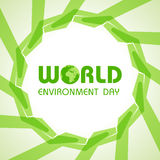 World Environment Day. Creative World Environment Day Greeting stock vector illustration