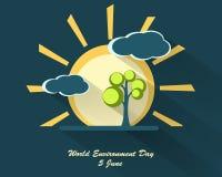 World environment day design Stock Photography