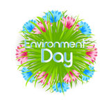 World Environment Day Flower Decoration Royalty Free Stock Images