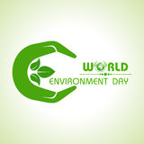 World environment day greeting design Royalty Free Stock Photos