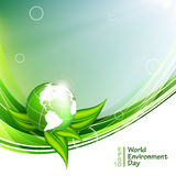 World environment day vector Royalty Free Stock Images