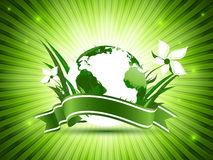 World environment day vector Royalty Free Stock Photography