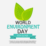 World Environment Day. Vector illustration of a Banner for World Environment Day royalty free illustration