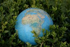 World europe. And africa Stock Photography