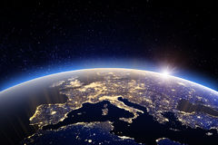 World - Europe. Elements of this image furnished by NASA Stock Images
