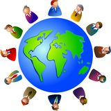 World executives Royalty Free Stock Photography