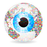 World eye Royalty Free Stock Photos