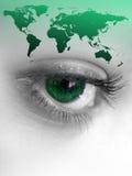 World Eye Royalty Free Stock Photo
