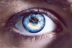 World eye Stock Photos