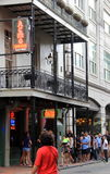 World famous Acme Oyster House, New Orleans,Louisiana,2016 Royalty Free Stock Photo