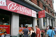 World Famous Bartley's in Boston Stock Images