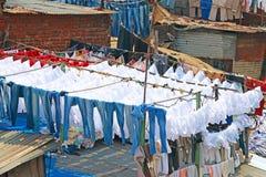 World famous Dhobi Ghats of Mumbai india Stock Images
