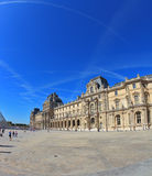 The world-famous Louvre Stock Image