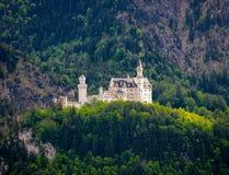 World-famous Neuschwanstein Castle, near Fussen, southwest Bavar Royalty Free Stock Photography