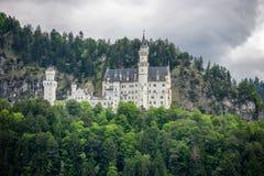 World-famous Neuschwanstein Castle, near Fussen, southwest Bavar Royalty Free Stock Photos