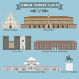World Famous Place. Italy. Napoli Royalty Free Stock Photography