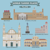 World Famous Place. Italy. Palermo Stock Photography