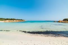 World famous Spiaggia del Principe. In Costa Smeralda, Sardinia stock image