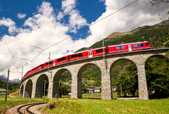 World famous swiss train royalty free stock images