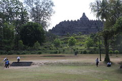 World famous temples of Borobudur Royalty Free Stock Images