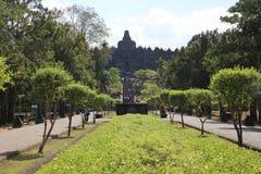 World famous temples of Borobudur Royalty Free Stock Image