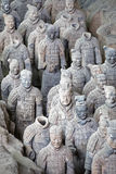 World famous Terracotta Army located in Xian China Royalty Free Stock Image
