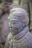 World famous Terracotta Army located in Xian China Royalty Free Stock Images