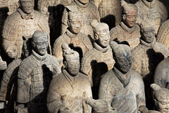 World famous Terracotta Army located in Xian China Stock Photography