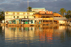 World famous Tiki Bar Royalty Free Stock Photography