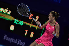 World female Tennis player Aginieszka Radwanska Stock Photo
