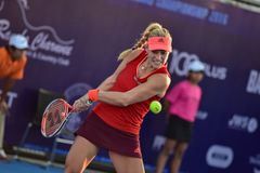 World female Tennis player Angelique Kerber Stock Photography