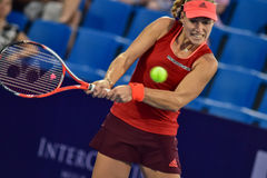World female Tennis player Angelique Kerber Royalty Free Stock Photos