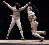 World Fencing Championship 2006; Baldini-Joppich royalty free stock images