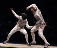 World Fencing Championship 2006, Baldini-Joppich Stock Images