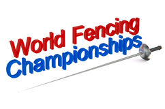 World Fencing Championships concept Stock Photos