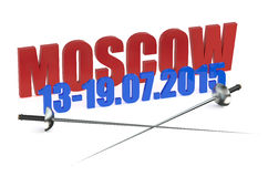 World Fencing Championships 2015 Russia Royalty Free Stock Image