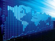World finance concept Stock Photo